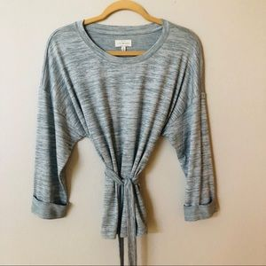 Lucky Brand Beautiful Top With tie wrap Size S